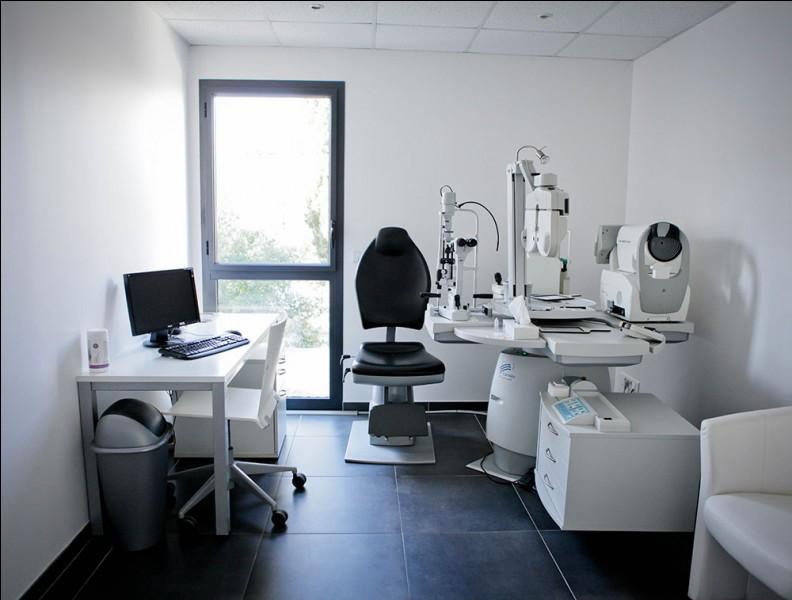 Besoin de changer de lunettes ou de faire un bilan des yeux ? Ce médecin spécialiste peut vous êtes utile. Comment s'appelle sa spécialité ?