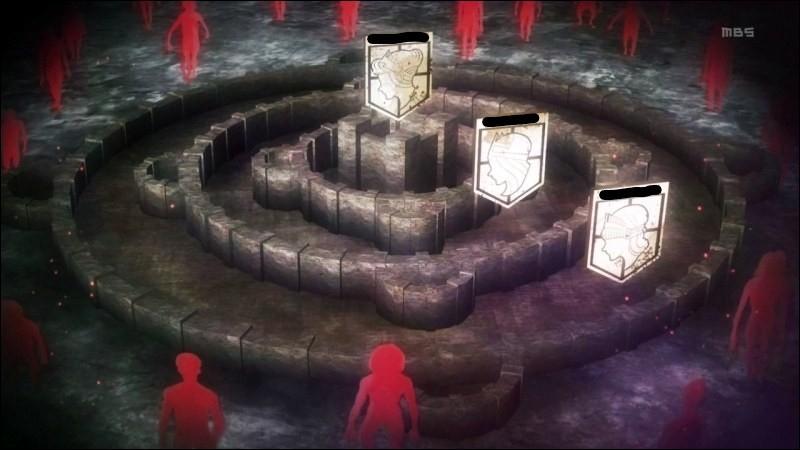 Commençons ! Comment s'appelle les 3 murs ? Dans l'ordre bien évidemment (du plus large au plus petit) ( :