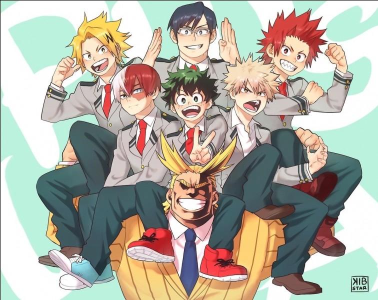 """Lequel de ces personnages, n'est pas un personnage du manga """"My Hero Academia"""" ?"""