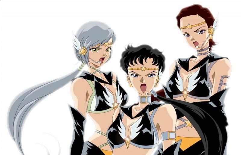 Qui sont les trois Sailors de l'image ?