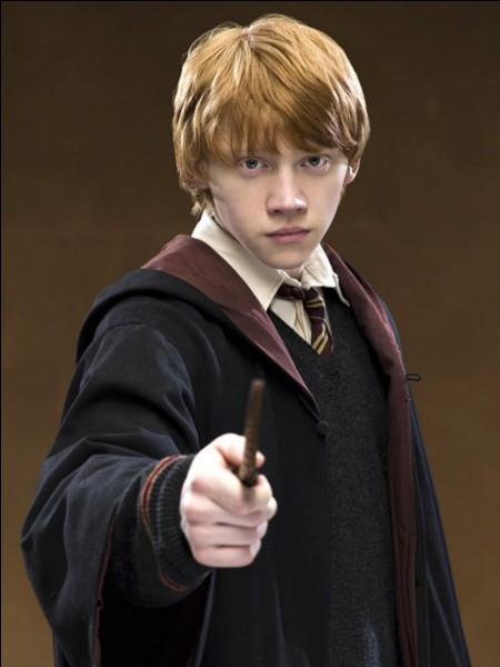 De quoi est faite la baquette de Ron à partir du tome 3 ?