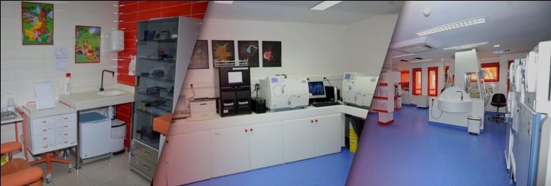 Parmi les choix proposés, quelle unité dispose de ce laboratoire qui leur permet d'effectuer des analyses comme récupérer des empreintes digitales ?