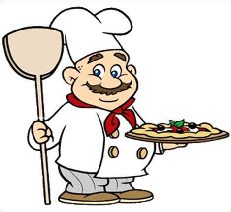 Comment se nomme celui qui prépare la pizza ?