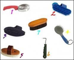 Quel est le nom de la brosse n°3 ?