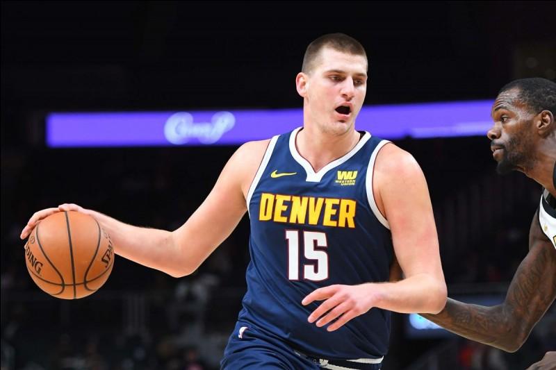Quel est ce basketteur serbe des Nuggets ?