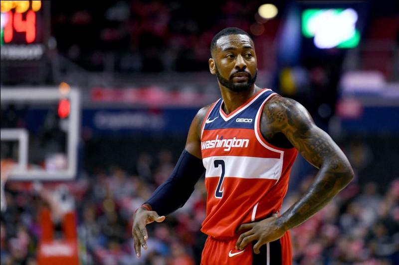 Quel est ce basketteur américain des Wizards ?