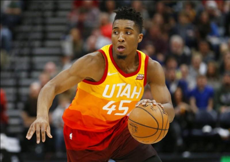Quel est ce basketteur américain du Jazz ?