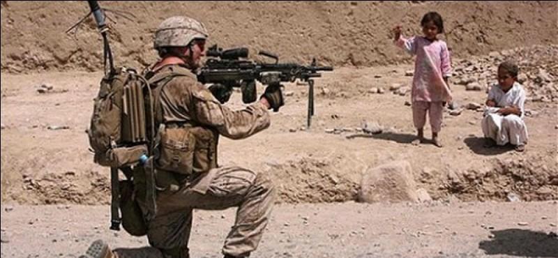 Quels pays ont soutenu les Moudjahidines lors de la Première guerre d'Afghanistan ?