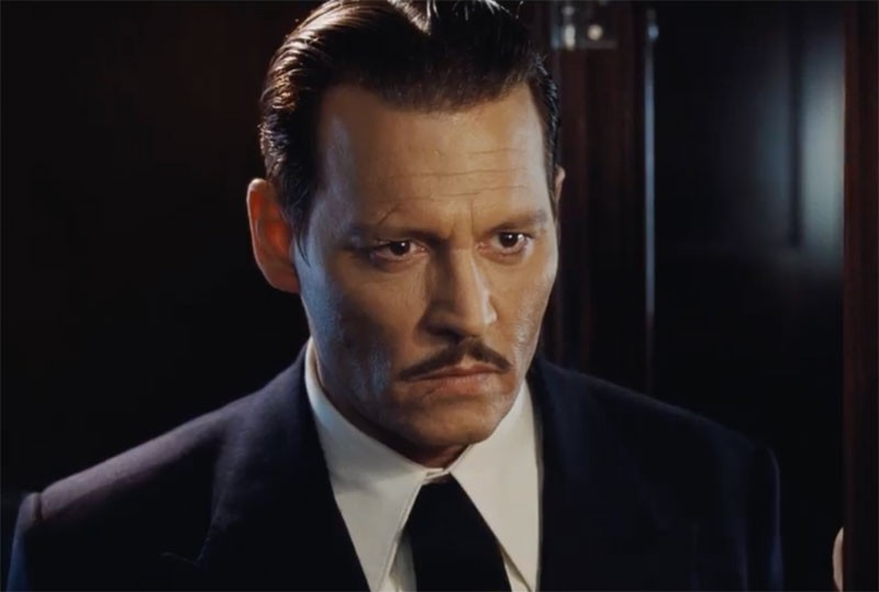 Scènes de films avec Johnny Depp