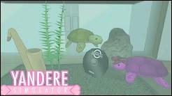 Comment Frite a-t-il appelé la tortue rose dans Yandere Simulator ?