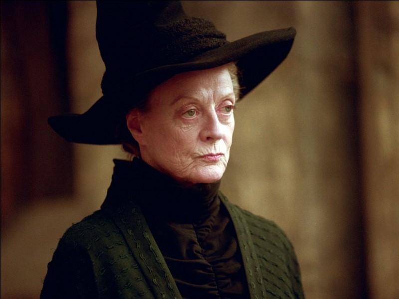 Quel est le type de sang du mari de Minerva McGonagall ?