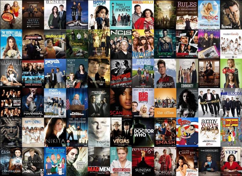 Dans quelle série peut-on trouver les personnages Sheldon, Léonard, Radge, Howard, Penny, Emy et Bernadette ?