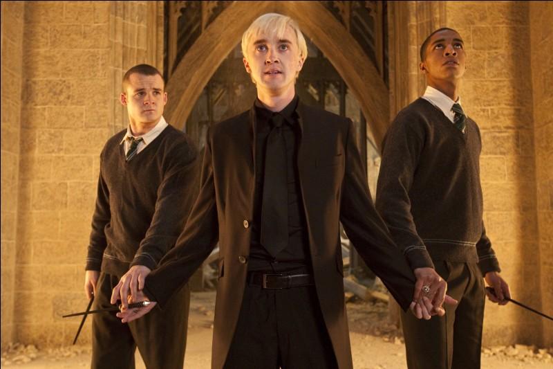 Dans quelle maison est Draco ?