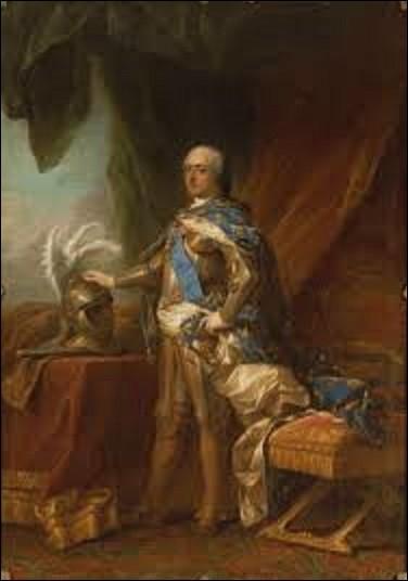 Vers 1750, quel rococo a peint ce portrait intitulé ''Louis XV en armure'' ?