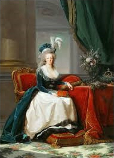 En 1788, quelle femme de mouvement rococo et néoclassique a peint ce portrait de Marie-Antoinette ?