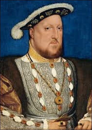 Quel peintre de la Renaissance du Nord a réalisé ce portrait d'Henri VIII d'Angleterre en 1537 ?