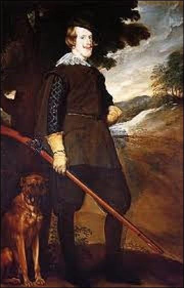 Entre 1633 et 1636, quel baroque a peint Philippe IV surnommé ''le Grand'' ou le ''roi-Planète'' sur cette peinture intitulée ''Portrait de Philippe IV en tant que chasseur'' ?