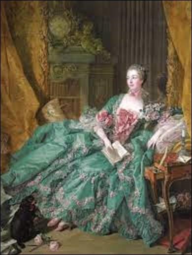 ''Madame de Pompadour'' est une huile sur toile réalisée en 1756 par un rococo. Quel artiste a peint cette marquise favorite de Louis XV ?
