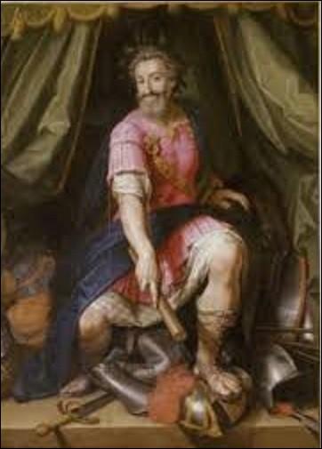Tableau le plus connu de cette artiste, ''Portrait de Henri IV en mars'' fut peint vers 1605-1606. Qui a réalisé le portrait de ce monarque dans cette tenue ?