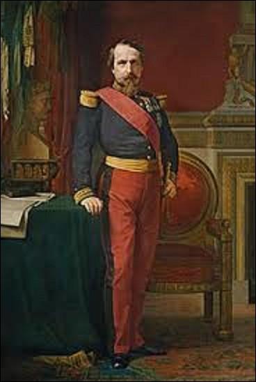 Le ''Portrait de Napoléon III en uniforme de général de division dans son grand cabinet des Tuileries'' est un tableau du musée de l'histoire de France de Versailles. Quel néoclassique est l'auteur de cette toile ?
