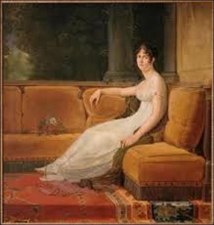 ''Madame Bonaparte dans son salon'' est un tableau exécuté par un néoclassique. De ces trois peintres de ce courant artistique, lequel a réalisé ce portrait ?