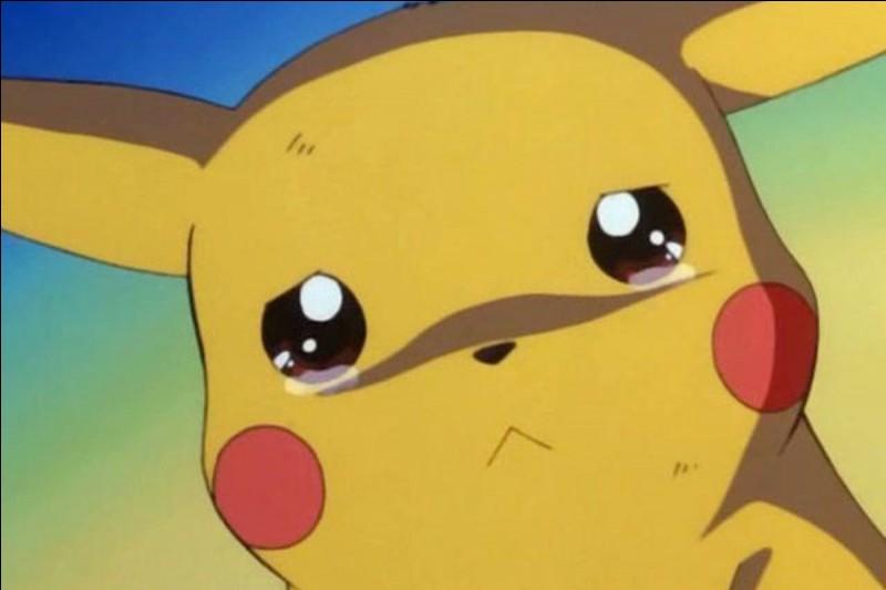 Quelle est la taille de Pikachu ?
