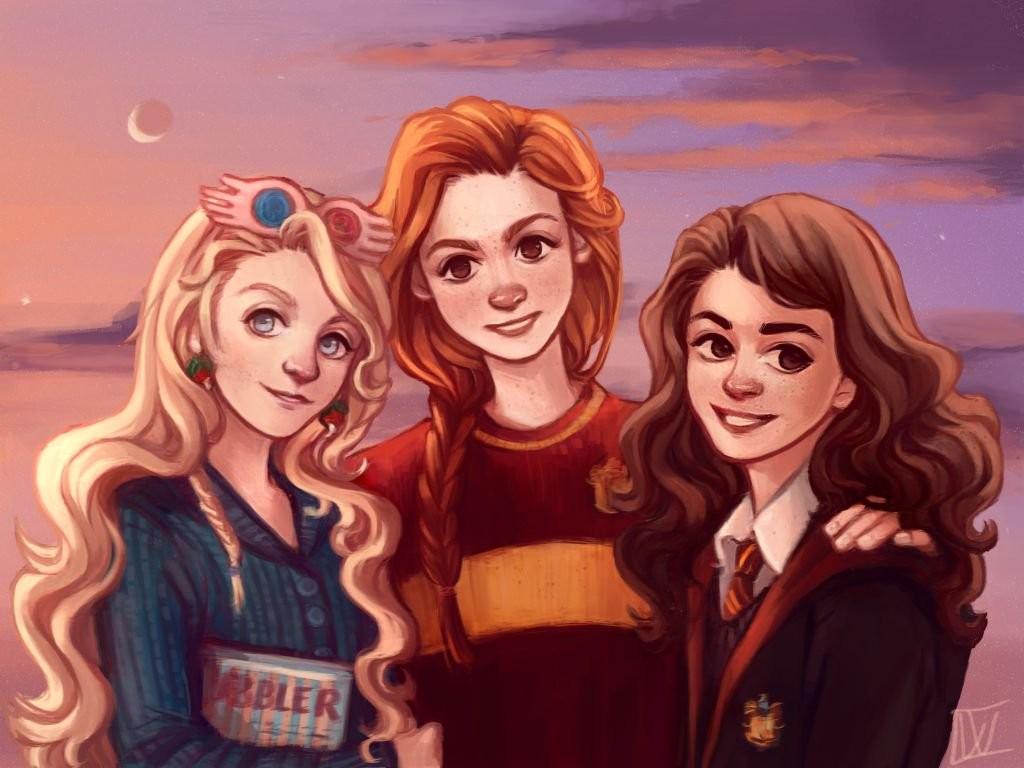 Luna, Hermione ou Ginny