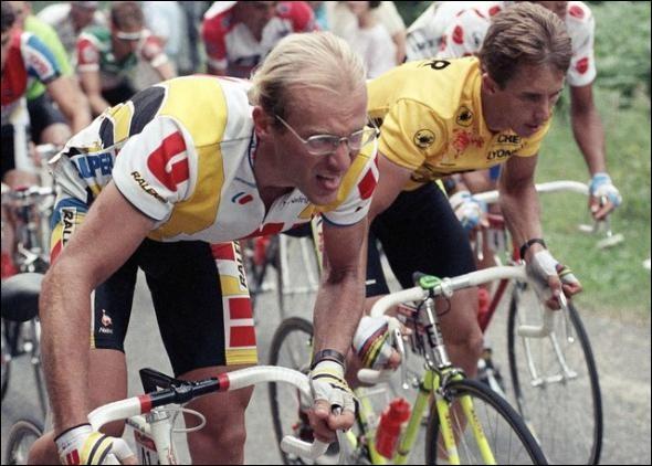 Laurent Fignon termine 2e du Tour de France en 1989 derrière Greg Lemon. Quel temps sépare les deux hommes après les 21 étapes (soit 3285 km) ?