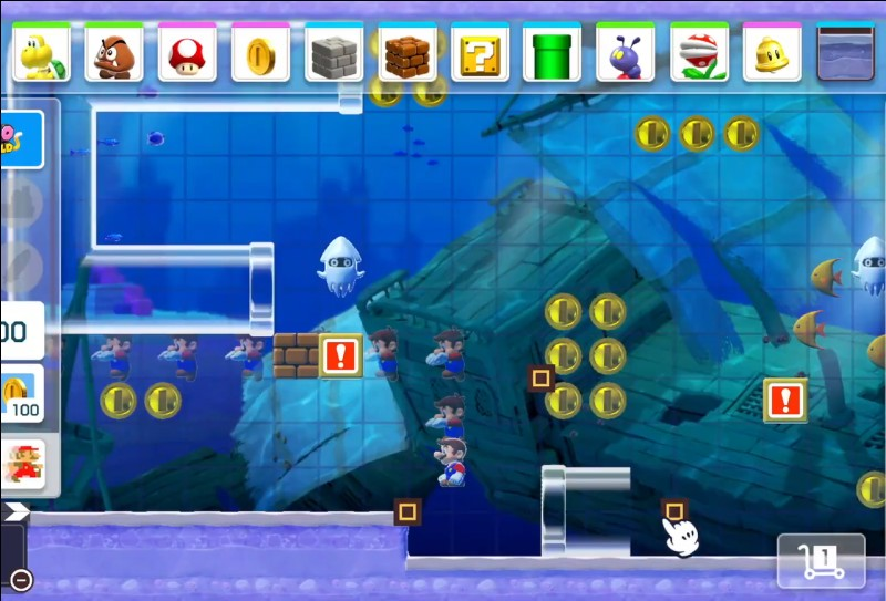Quelle est la nouveauté dans Mario Maker 2 au niveau des genres de jeux ? (ex Super Mario Word)