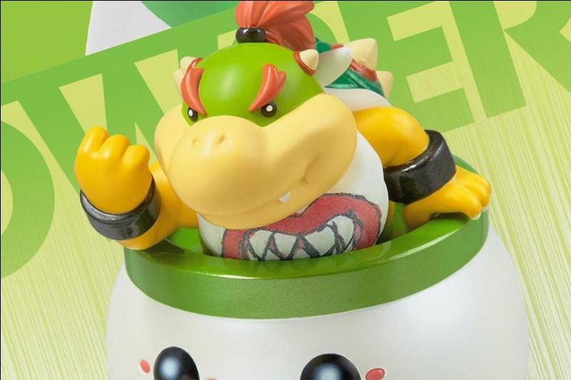 Dans quel Mario Bowser Jr apparaît-il en premier ?