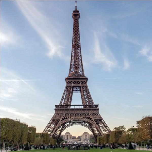 Où se trouve ce monument (tour Eiffel) ? Ne trichez pas
