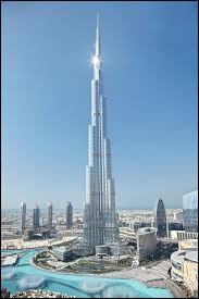 Dans quelle ville se situe le Burj Khalifa ?