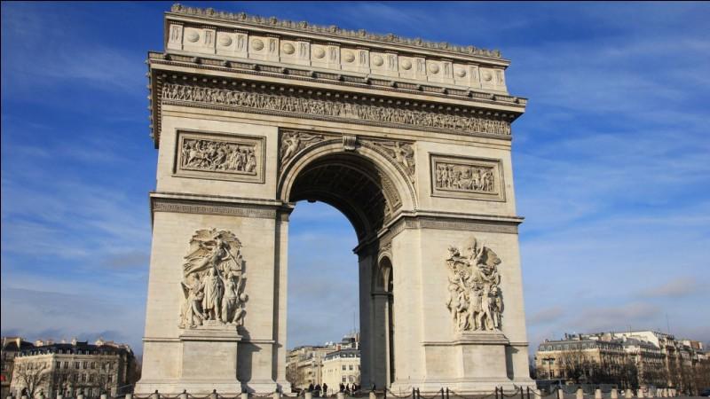 Où se situe l'Arc de triomphe ?