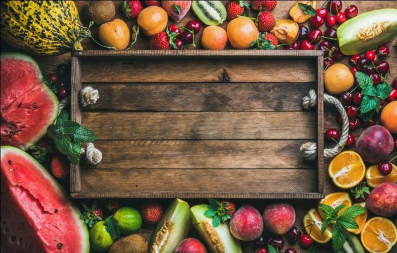 Quels fruits sont les alberges?