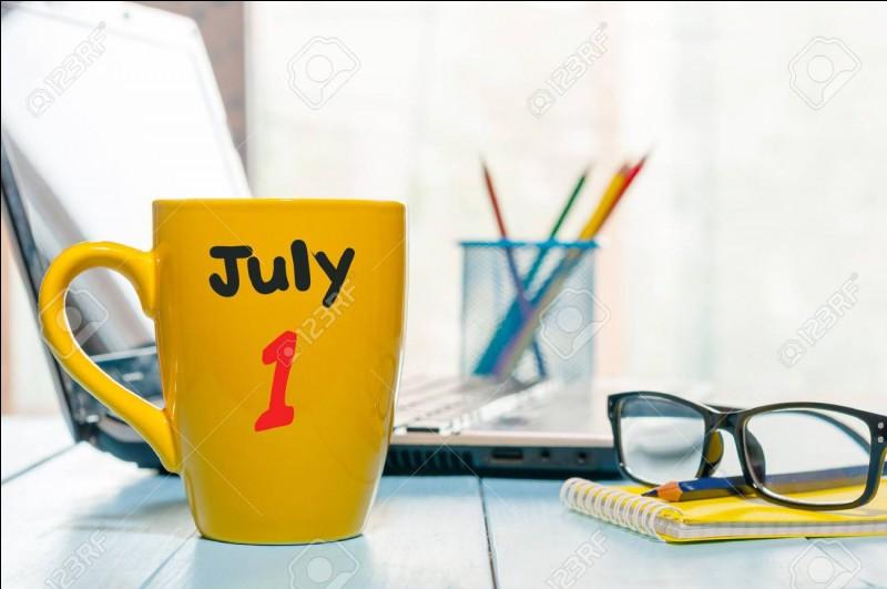 """""""Le premier juillet deux mille dix-neuf tombe un lundi.""""Quelle est la nature grammaticale de """"premier"""" ?"""