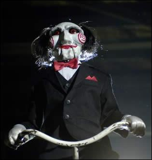 La marionnette de Saw se nomme: