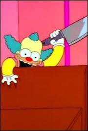 Dans quel épisode spécial Halloween des Simpson voit-on Evil Krusty?