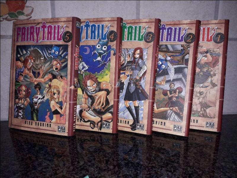 Combien de tomes, la série compte-t-elle (sans compter les hors-séries) ?