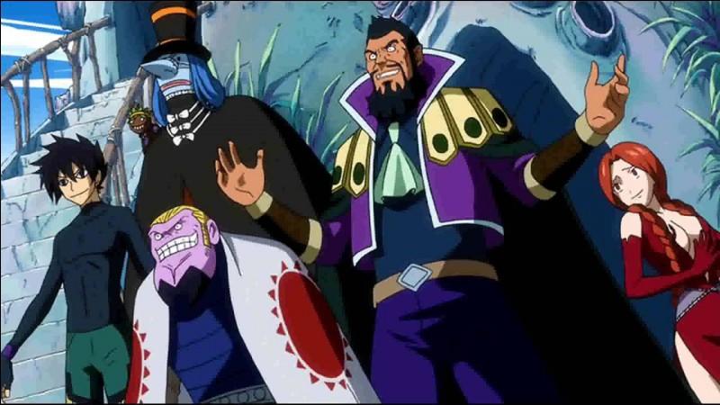 Comment se nomme la guilde anti-Fairy Tail présente au grand tournoi de la magie ?