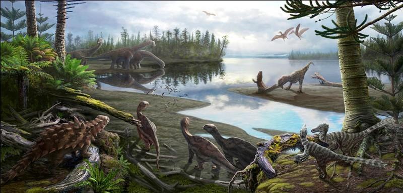 Les dinosaures ont régné sur Terre pendant plus de 160 millions d'années