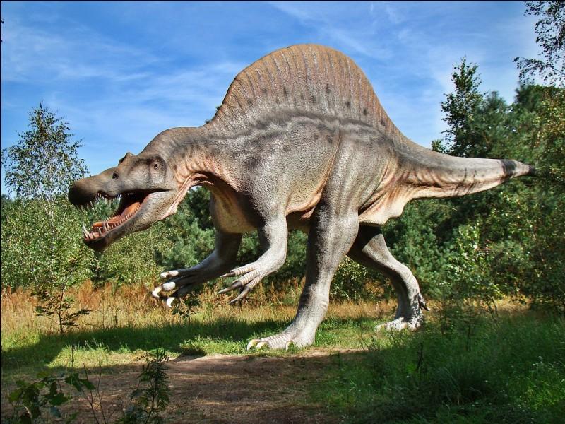 Le spinosaure vivait en Afrique du Nord.