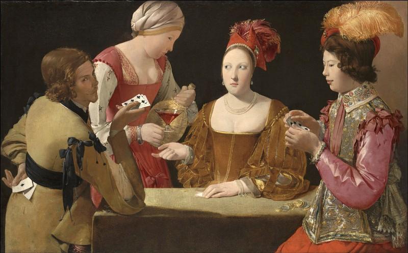 """À quel artiste doit-on le tableau """"Le Tricheur à l'as de trèfle"""" ?"""