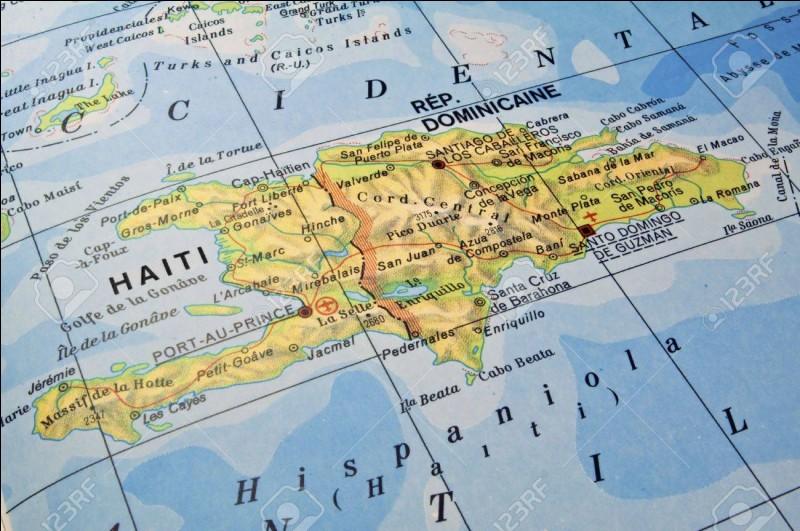 Laquelle de ces capitales se trouve sur l'île d'Hispaniola ?