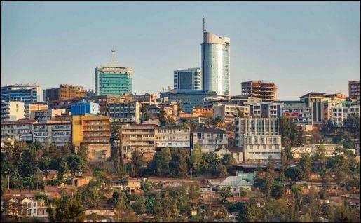 Laquelle des villes suivantes est la capitale du Rwanda ?