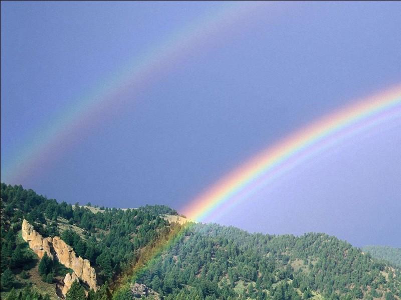Depuis Isaac Newton, combien de couleurs comporte officiellement un arc-en-ciel ?