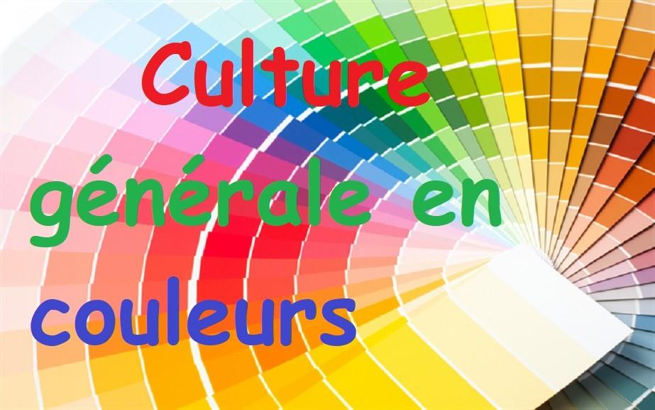 Culture générale en couleurs
