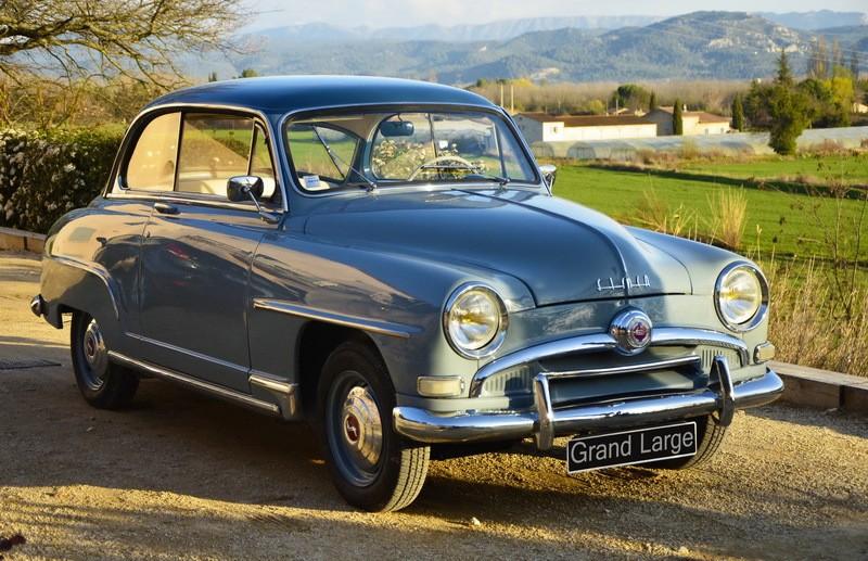 Quelques voitures des années 50'