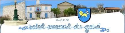 Commune de la métropole Nîmoise, Saint-Mamert-du-Gard se situe dans le département ..