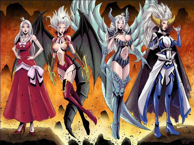 Quels démons Mirajane possède-t-elle ?