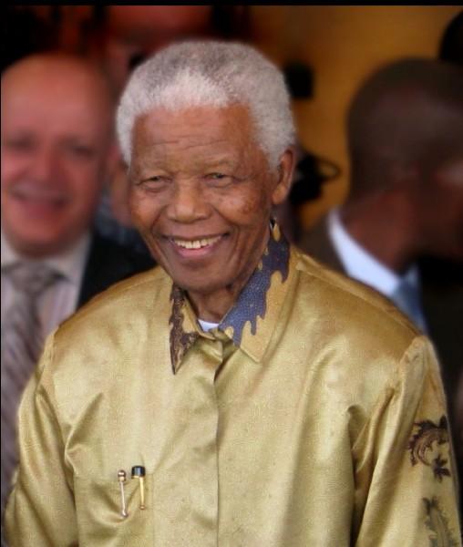 En quelle année Nelson Mandela obtient-il le prix Nobel de la paix ?